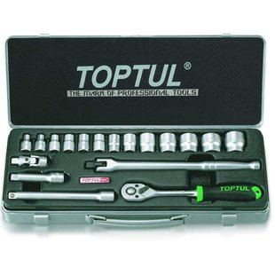 "Werkzeugsatz TOPTUL 3/8"" 18 Stück"