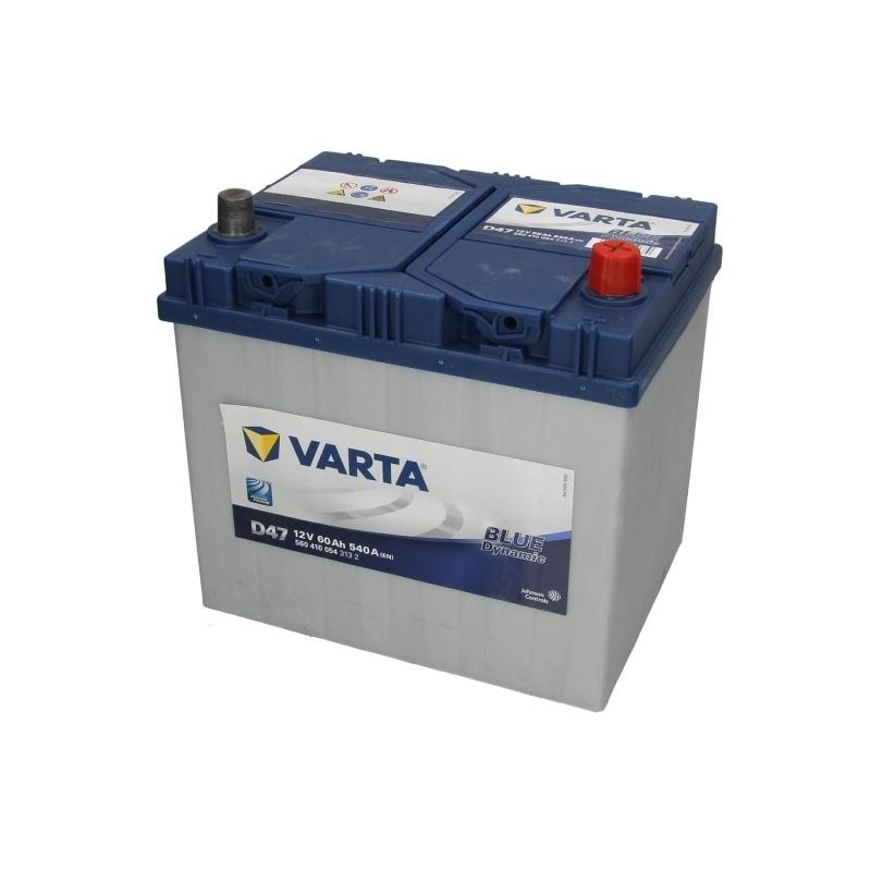 Autobaterie VARTA Blue Dynamic 12V 60Ah 540A, 560 410 054