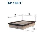 Luftfilter FILTRON 199/1 AP