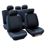 MAMMOOTH Potahy na sedadla Managua, kombinace přední a zadní, materiál: polyester, barva: černá